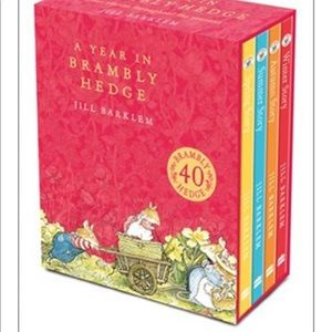 Box of Brambly Hedge books unopened!
